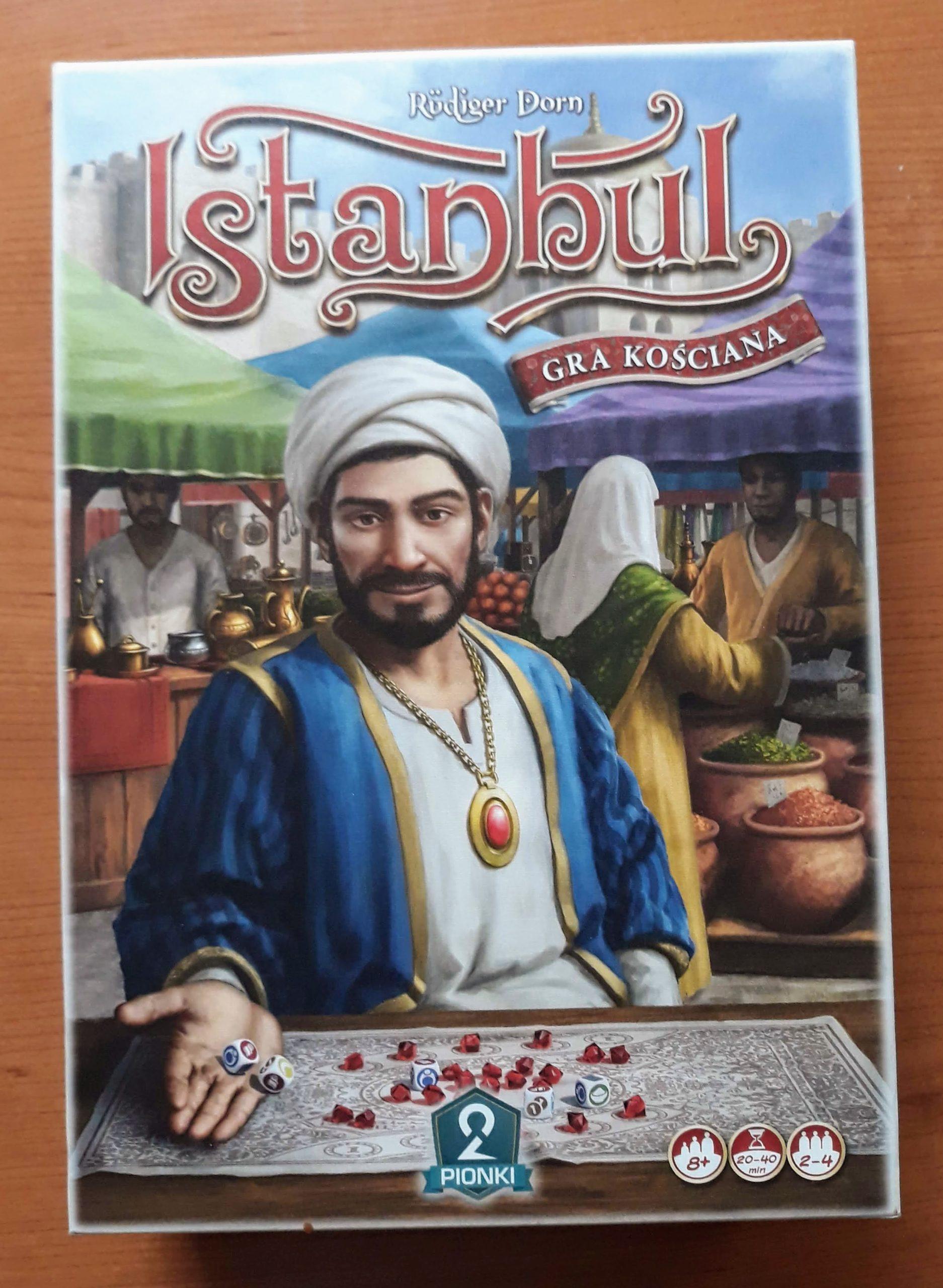 Istanbul - gra kościana
