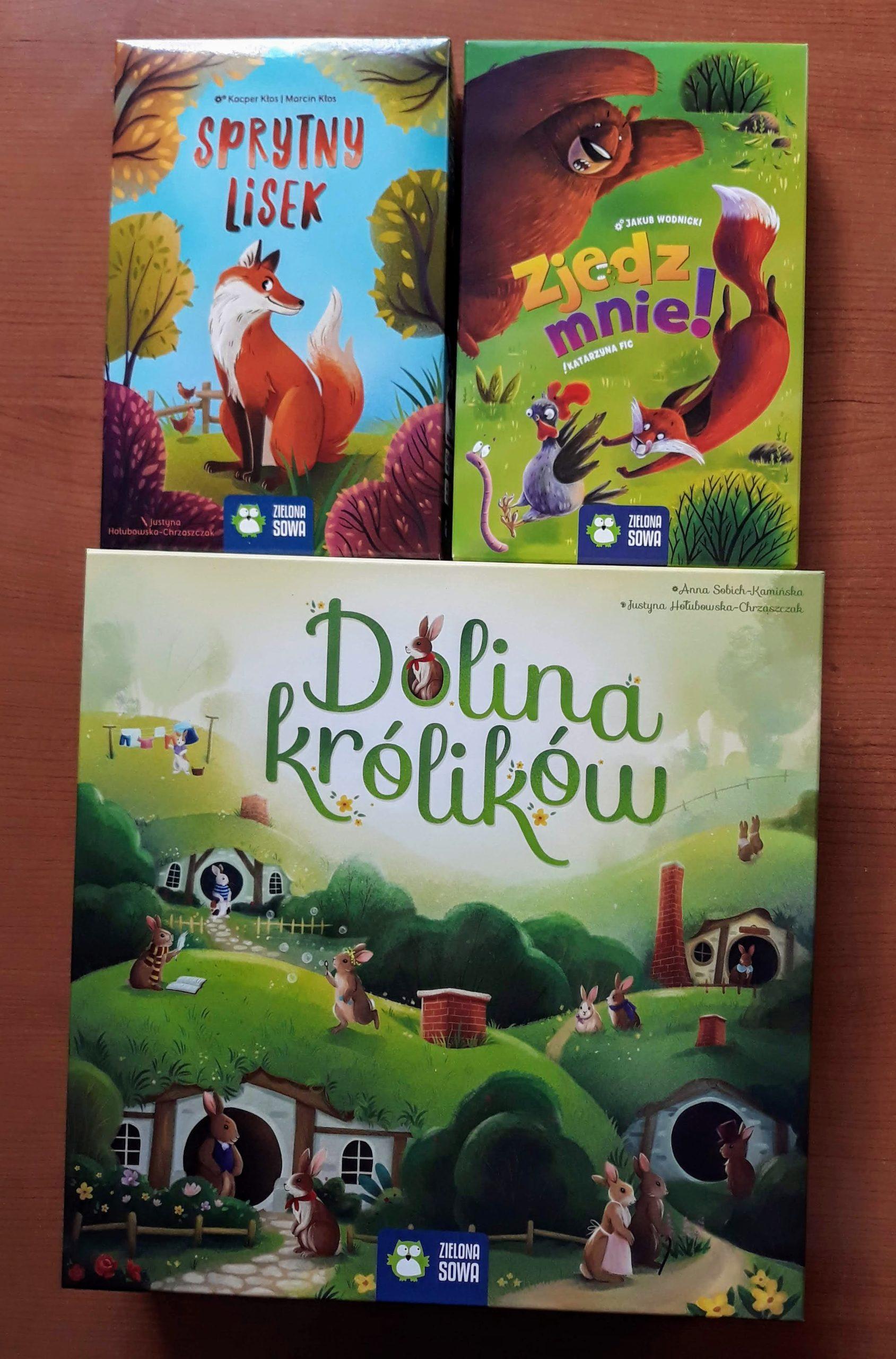 Zielona Sowa - gry