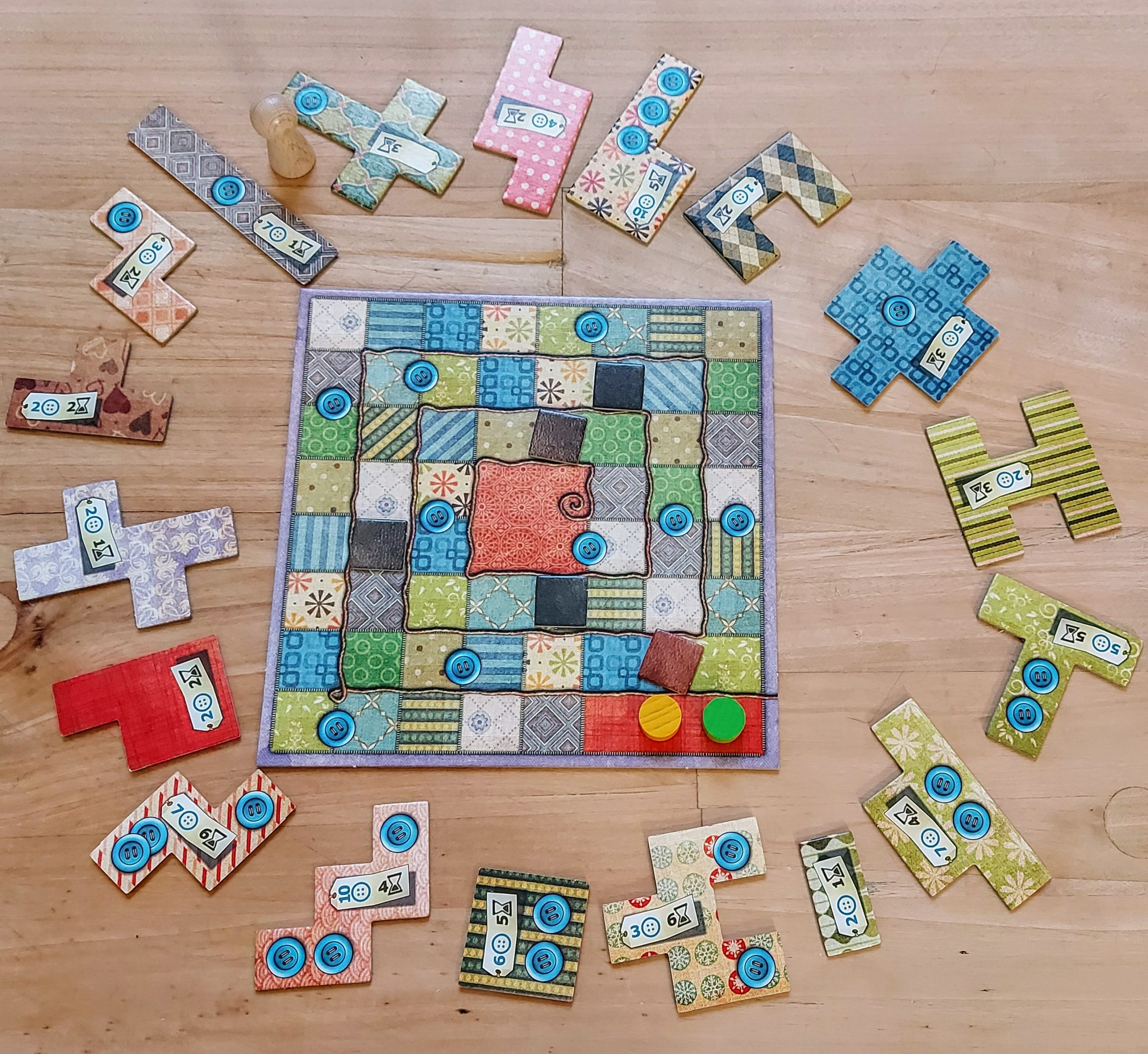 Patchwork - gra kafelkowa