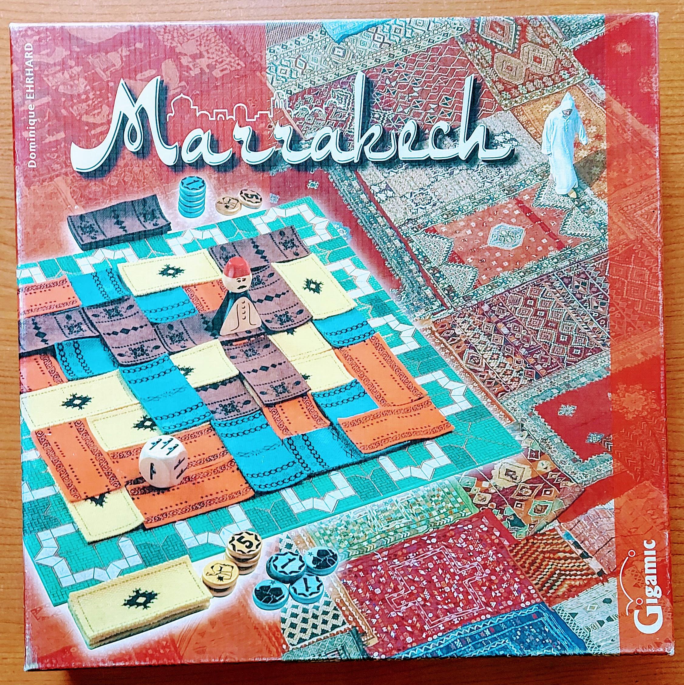 Marrakech - gra o dywanach