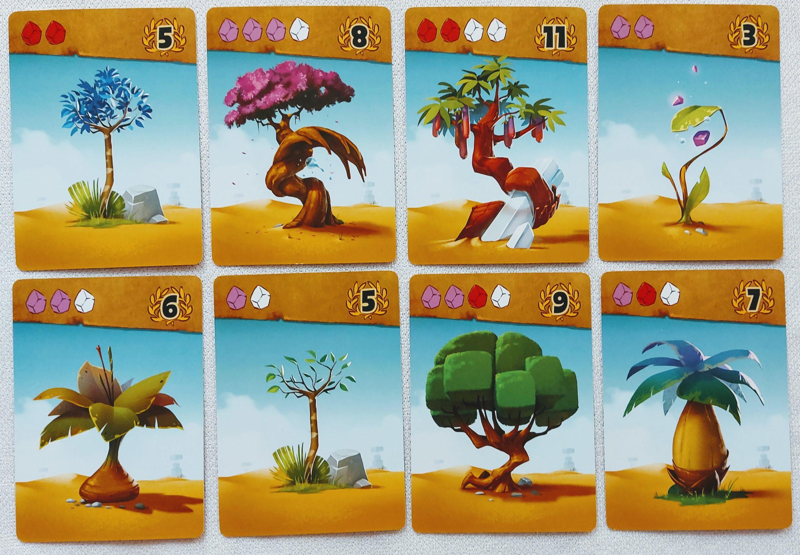 Karty drzew