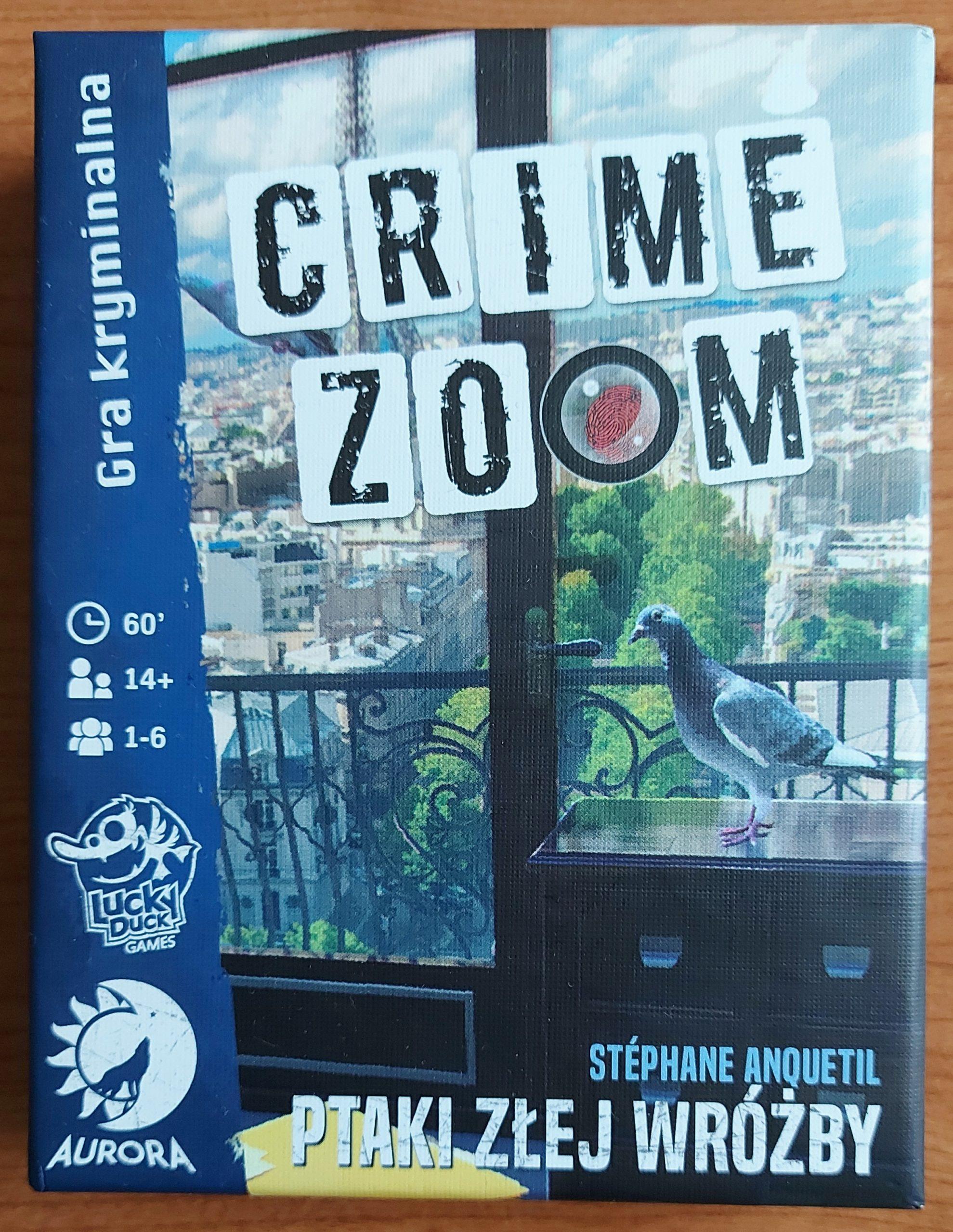 Crime Zoom - Ptaki Złej Wróżby